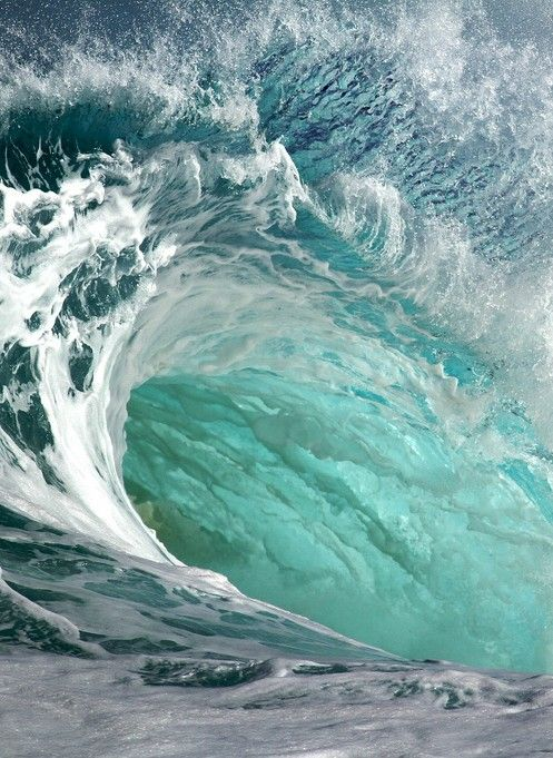 wave. Honestly I looks cool but I get a little panicky feeling when I look at it. I think I   have huge fear of drowning.