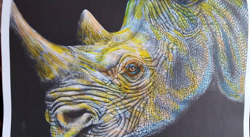 Rhinoceros By Susan Lowe