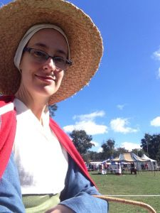 A visit to Rowany Festival | Simple Crafty Life. See a couple of pictures of me dressed up medieval at an Easter camping event! Teehee.