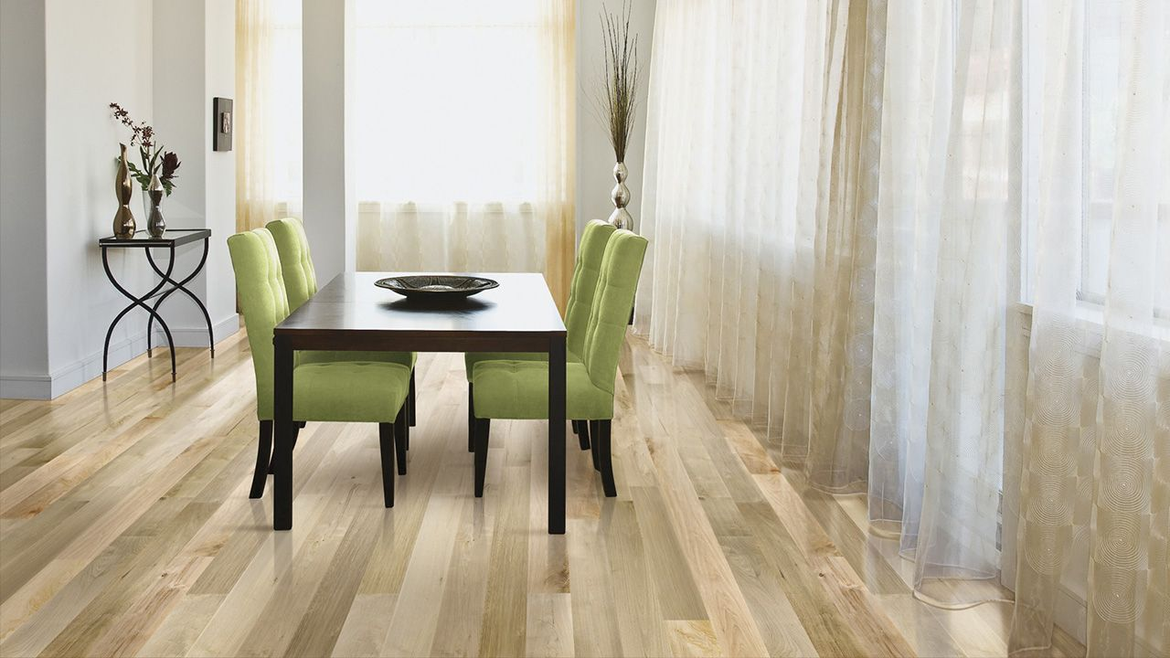 Homerwood Hard Maple Mist Prime Flooring Dining