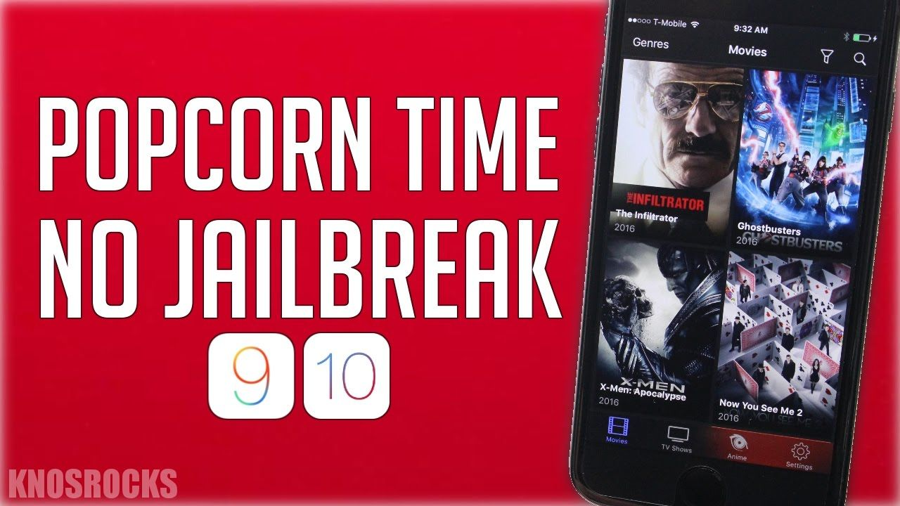 How To Install POPCORN TIME iOS 10.0.2, 10 & 9 NO