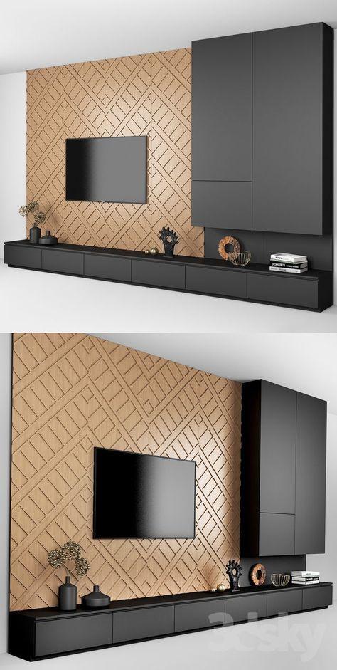 Pin By Ekaterina Pashkevich On دولاب تلفزيون Living Room Design Modern Modern Tv Wall Units Tv Room Design