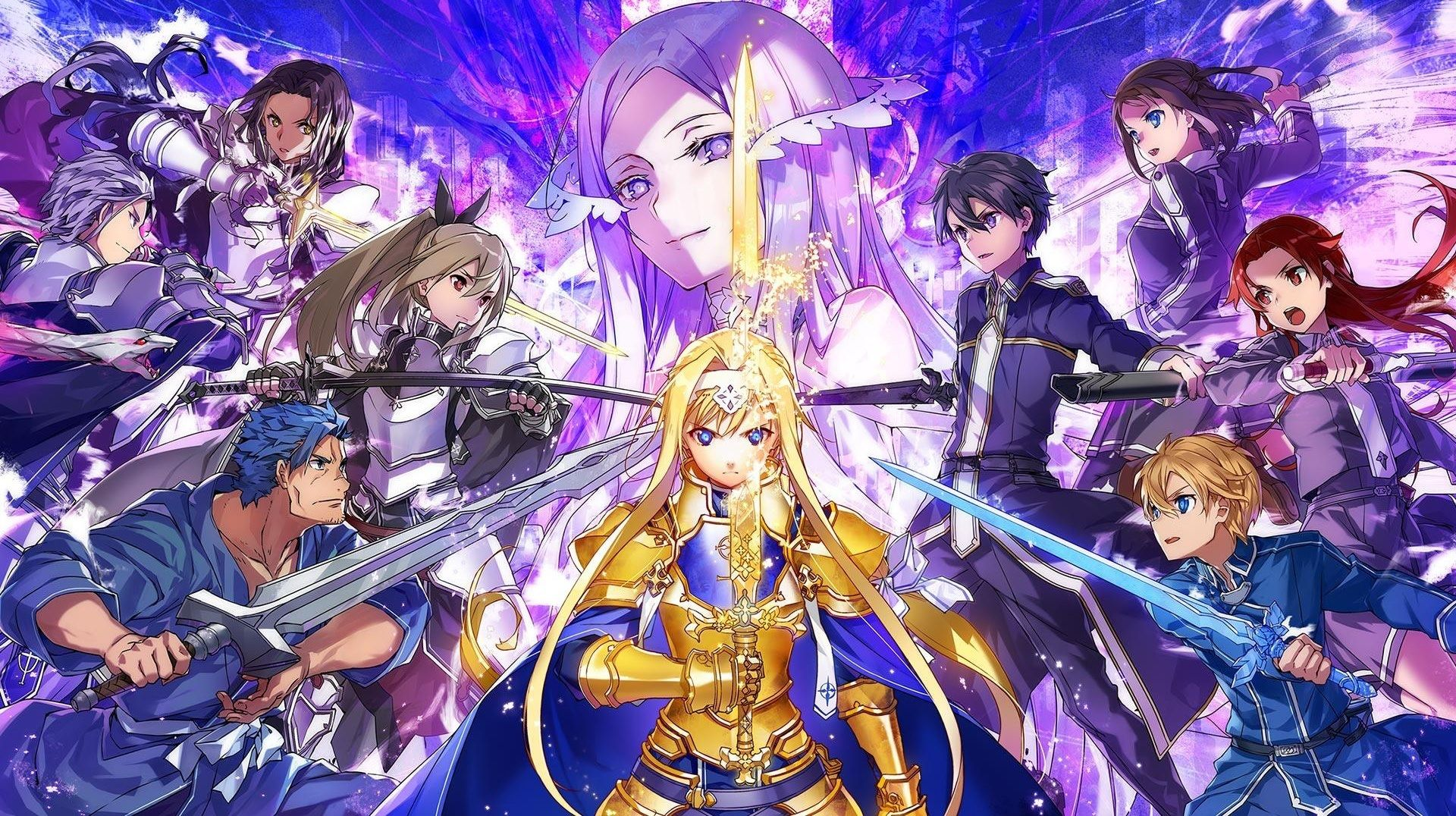 Sword Art Online Alicization which is a pretty confusing