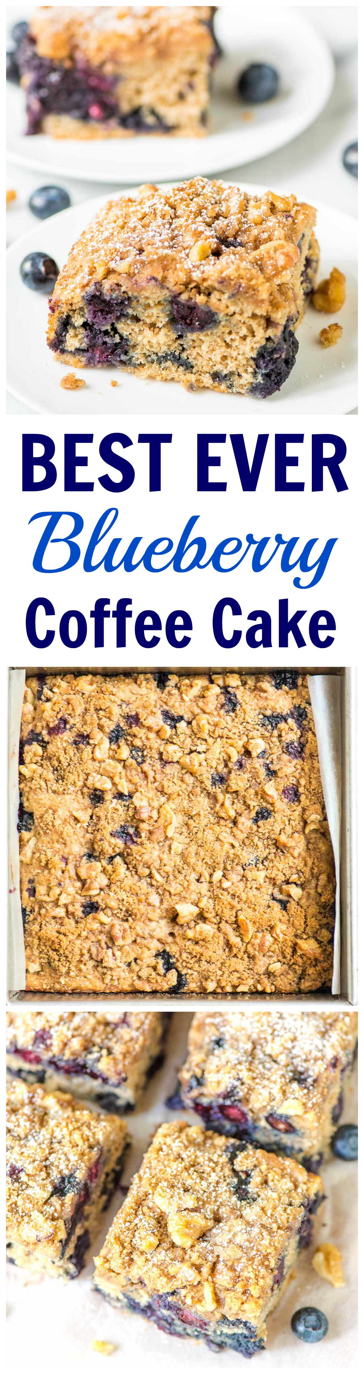 This is the BEST EVER Blueberry Coffee Cake recipe — Ultra