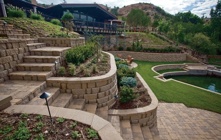 1000 images about terrace wall garden on pinterest retaining walls retaining wall landscaping and stone retaining wall