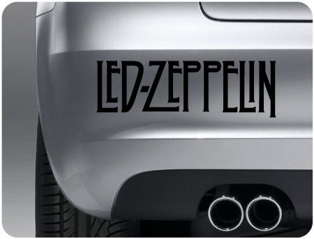 Zeppelin car decals car stickers vehicle graphics and vinyl lettering all at great