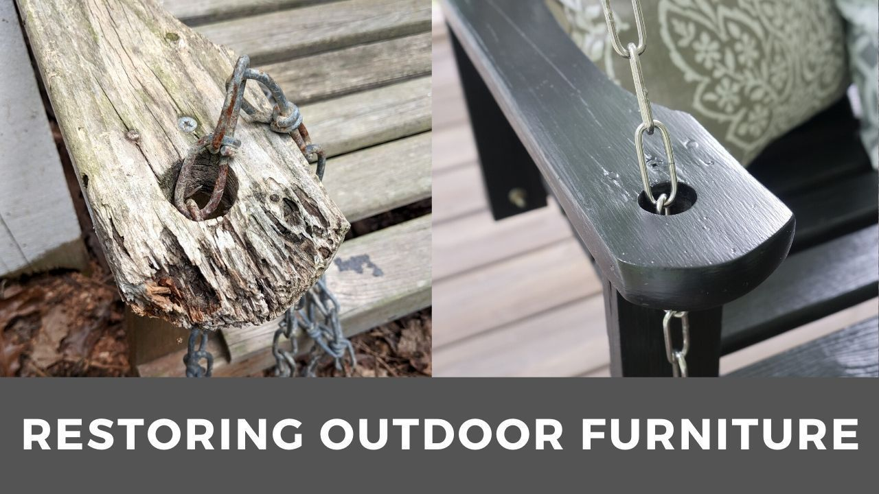How to restore outdoor furniture mike