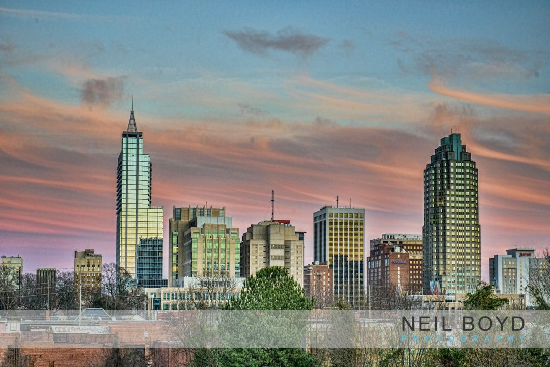 Raleigh, NC. Commercial Photography. Downtown Raleigh