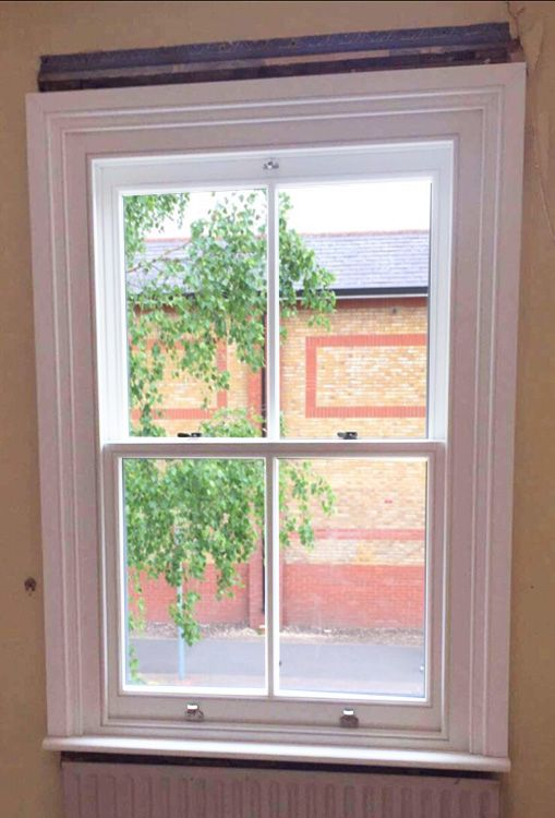 Timber Sash Window Installation In Walthamstow North