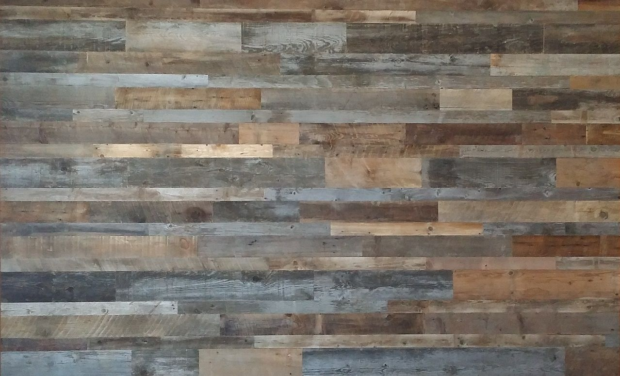 Wood Paneling Product Feature Wall Original Antique Texture Reclaimed Blend