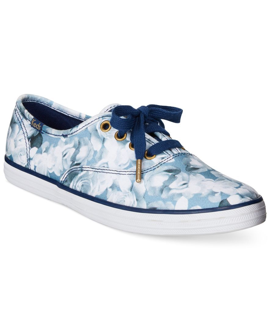 67044c031e Keds Women s Limited Edition Taylor Swift Champion Floral Print Sneakers