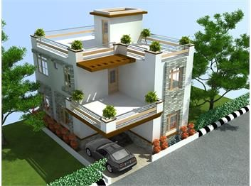House Designs Google Search Ideas For The House Pinterest - 3 bedroom duplex house design plans india