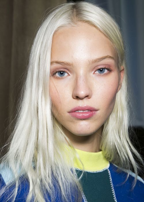 Image Result For Sasha Luss Hair Runway Hair Platinum Blonde Hair