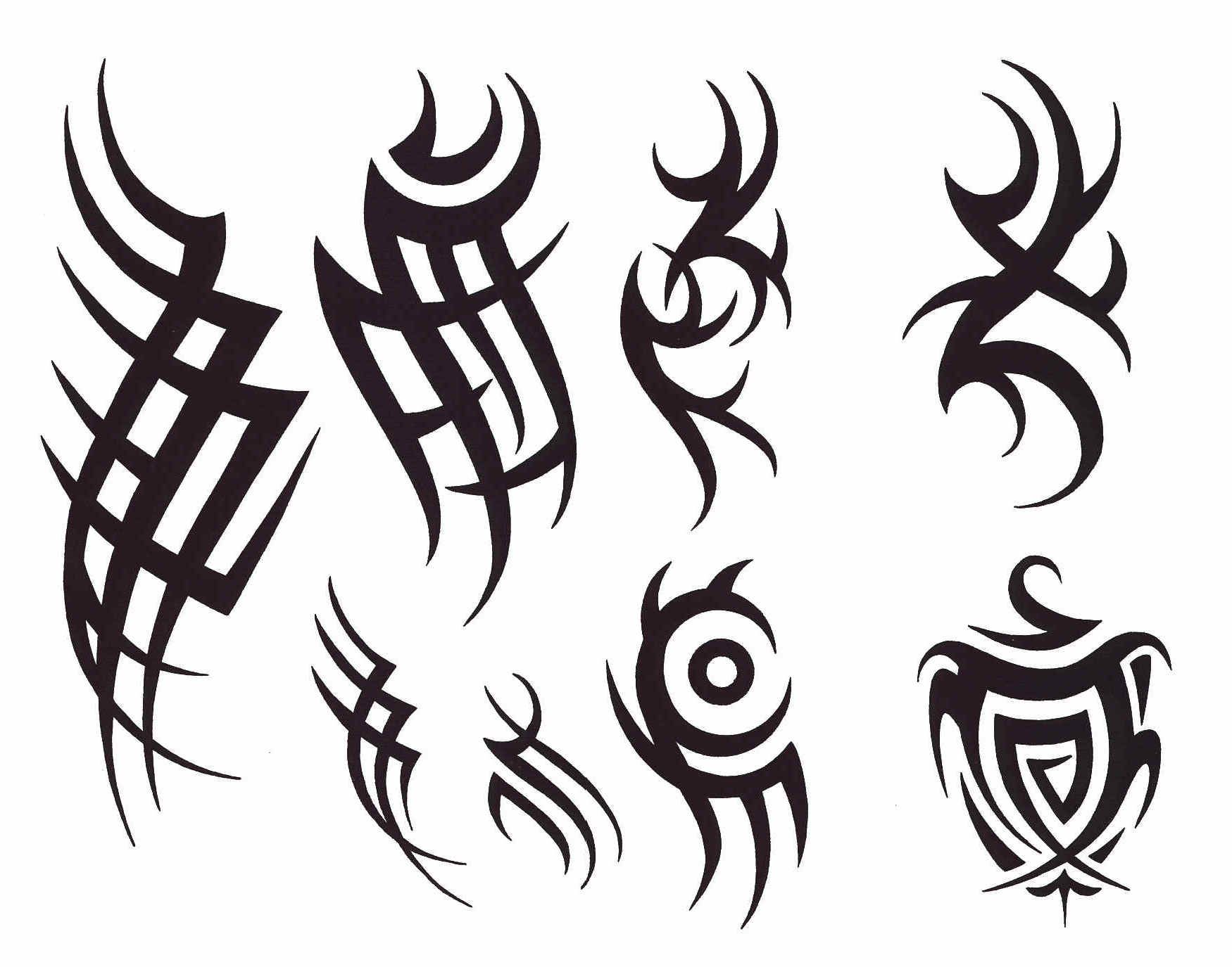 Tattoo Designs For Men On Paper Gotten Elegant Tribal