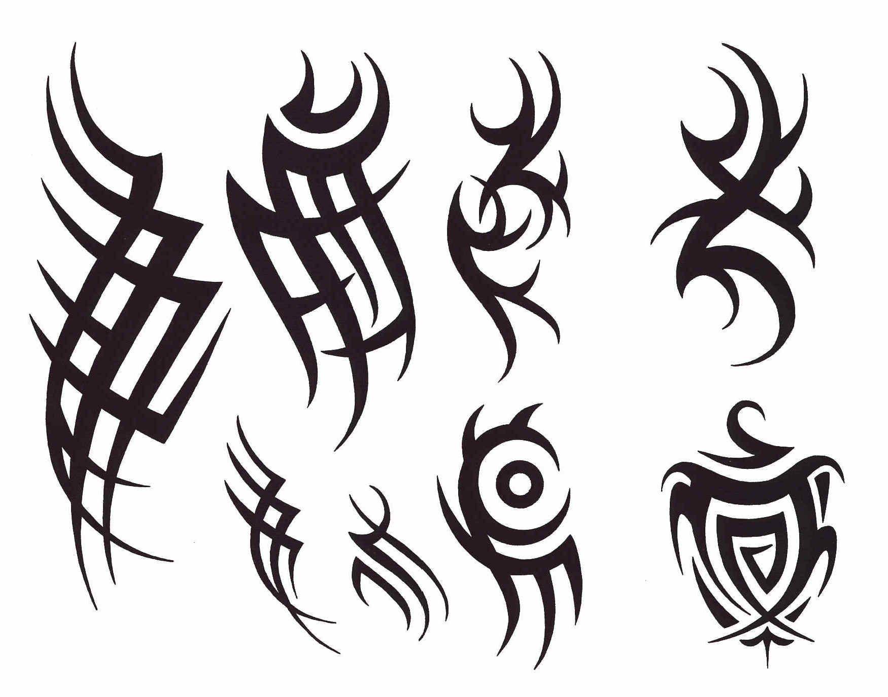 Tattoo Designs For Men On Paper Gotten Elegant Tribal