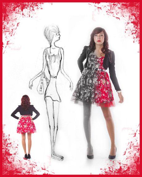 Fashion design for teen
