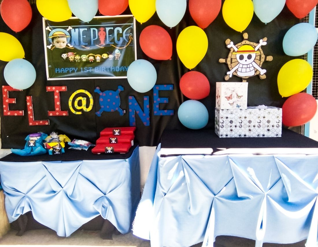 One Piece Anime Themed Birthday Party Birthday Party Themes One