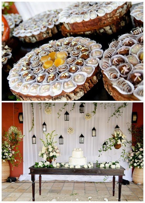 doces e decoração - Casamento na praia   Decoração casamento   Pinterest