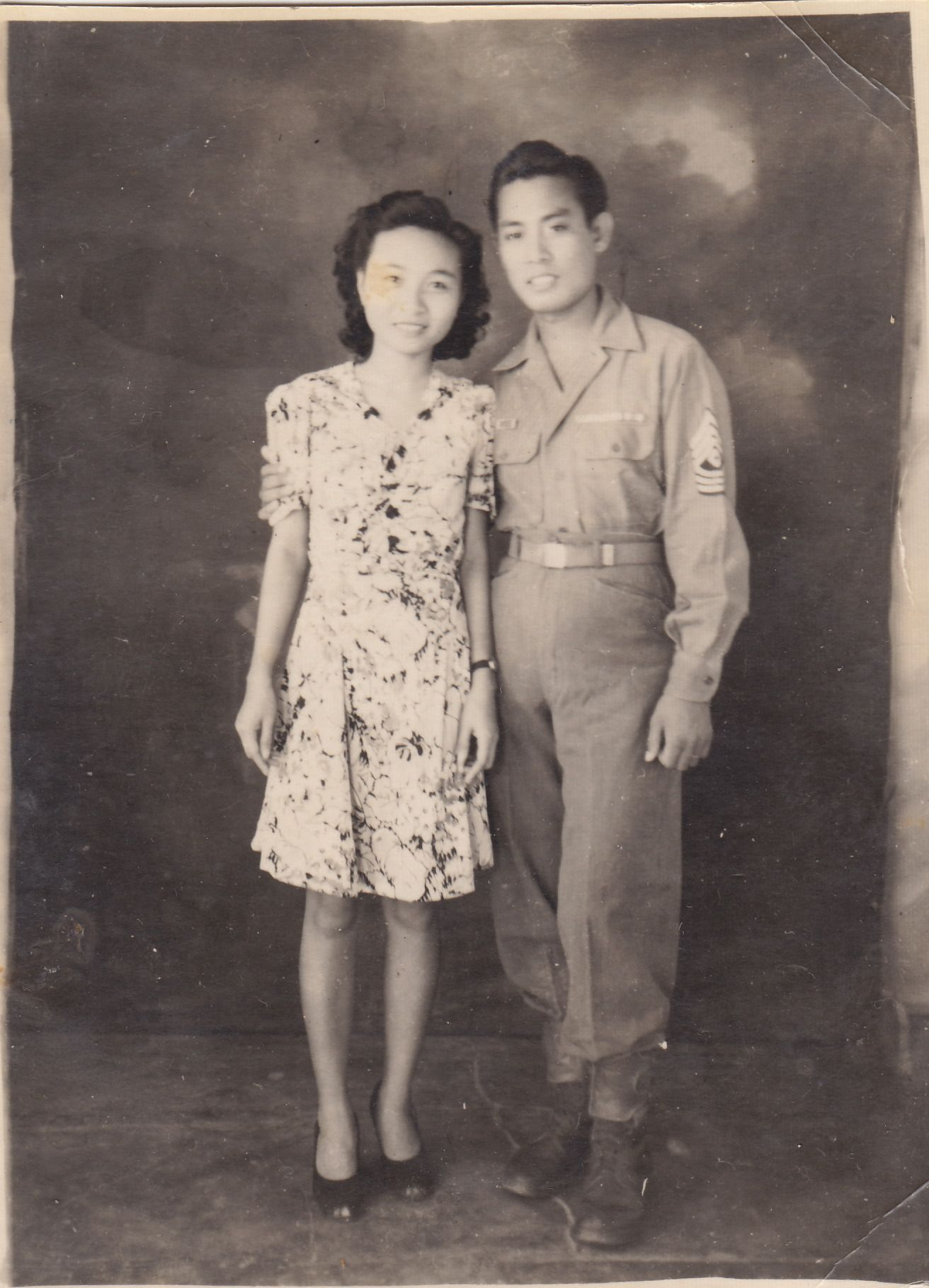 A Pinoy couple, circa 1940's, named Gene and Lucy
