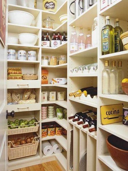 Las mejores despensas para tener todo en orden despensa for Despensas de cocina