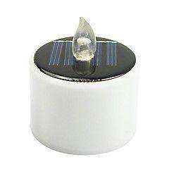 mlsled+0.5W+2v+IP66+varmt+hvitt+lys+solcelle+makt+krystall+levende+lys+diamant+natur+lys+for+ferie+hage+dekorative+lys+med+lysstyring+–+NOK+kr.+647