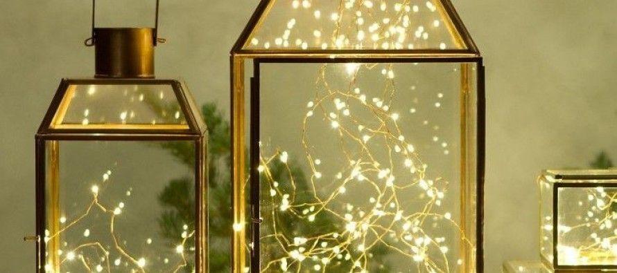 Ideas para decorar con luces de navidad - Luces De Navidad