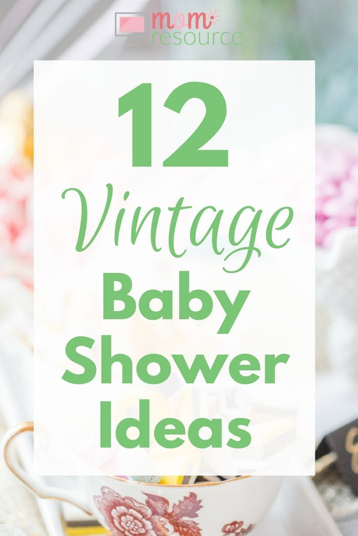 Vintage Baby Theme : vintage, theme, Vintage, Shower, Ideas,, Themes, Photos, Invitation,, Vintage,, Theme