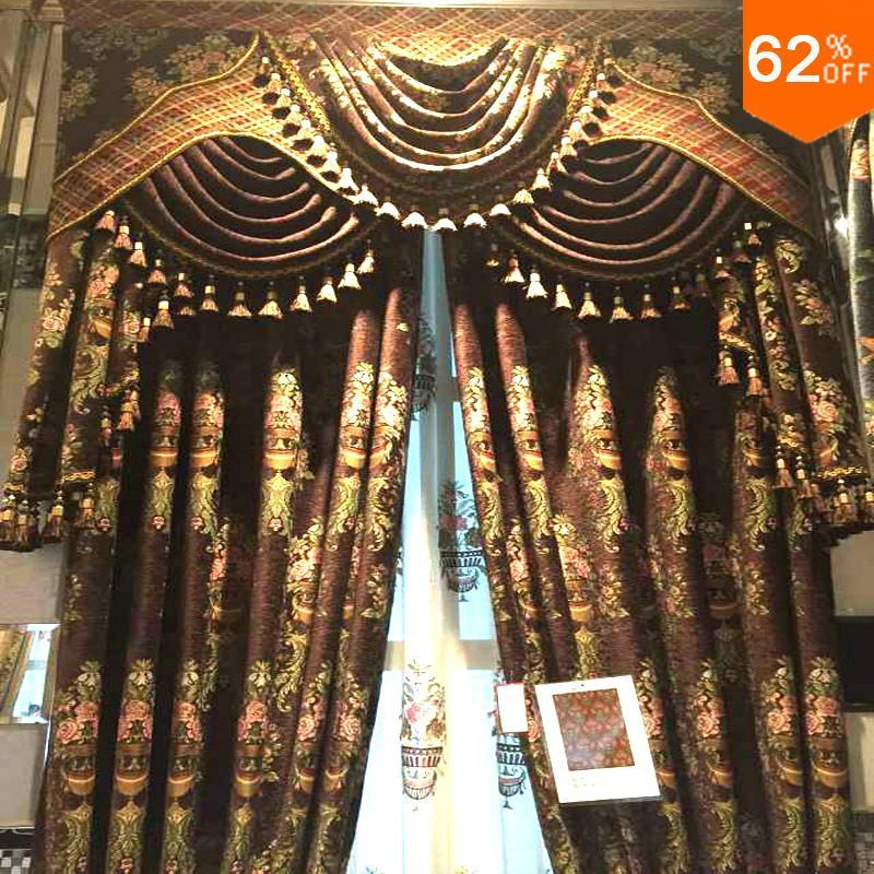Find More Curtains Information About 2016 New Heavy Luxury