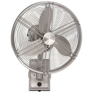 Ellington Fans Cfar14bnk3w Faraday Small Fans Up To 38 Ceiling Fan Wall Mounted Fan Wall Fans Outdoor Wall Fan