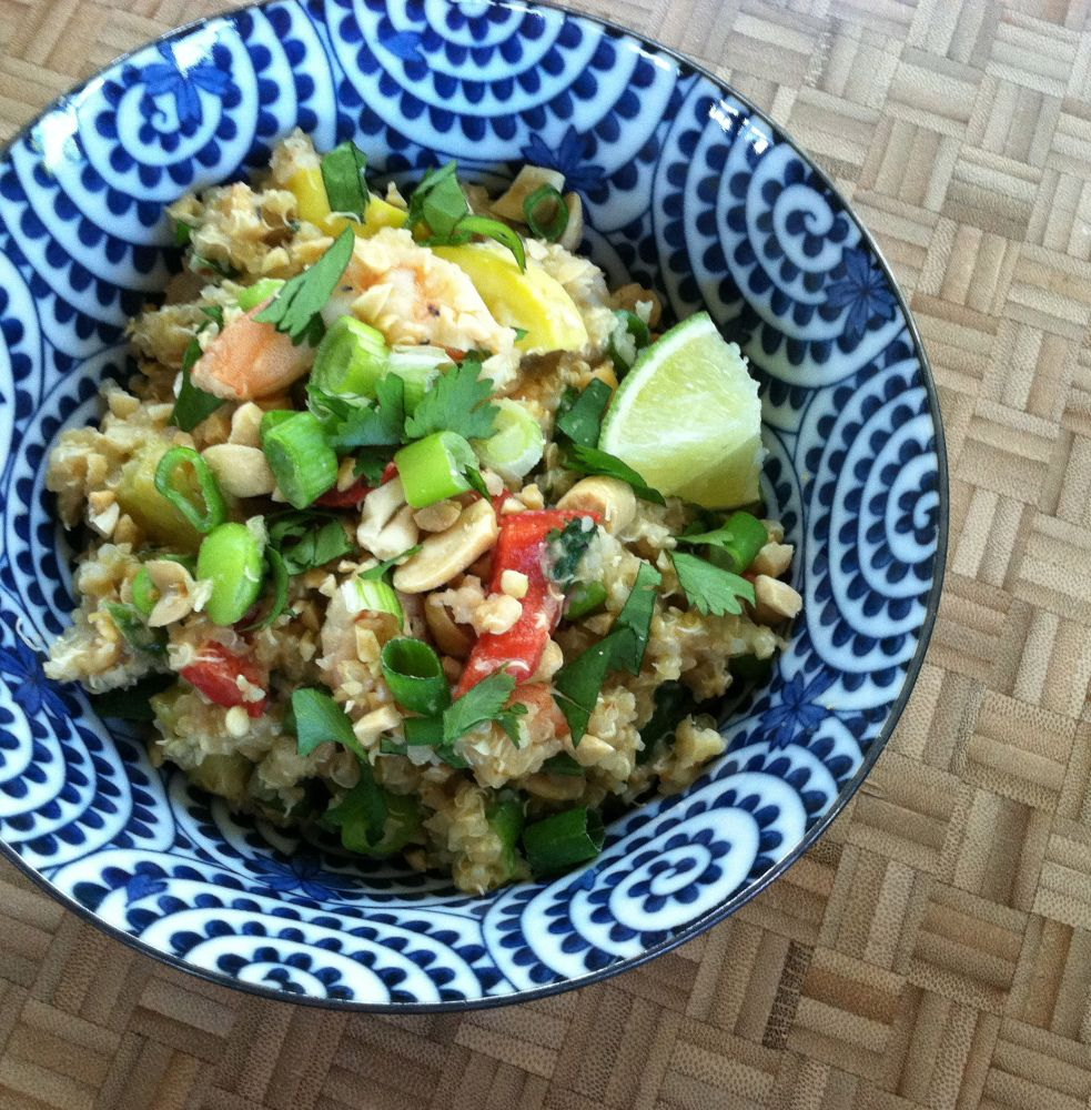 Thai Shrimp Quinoa
