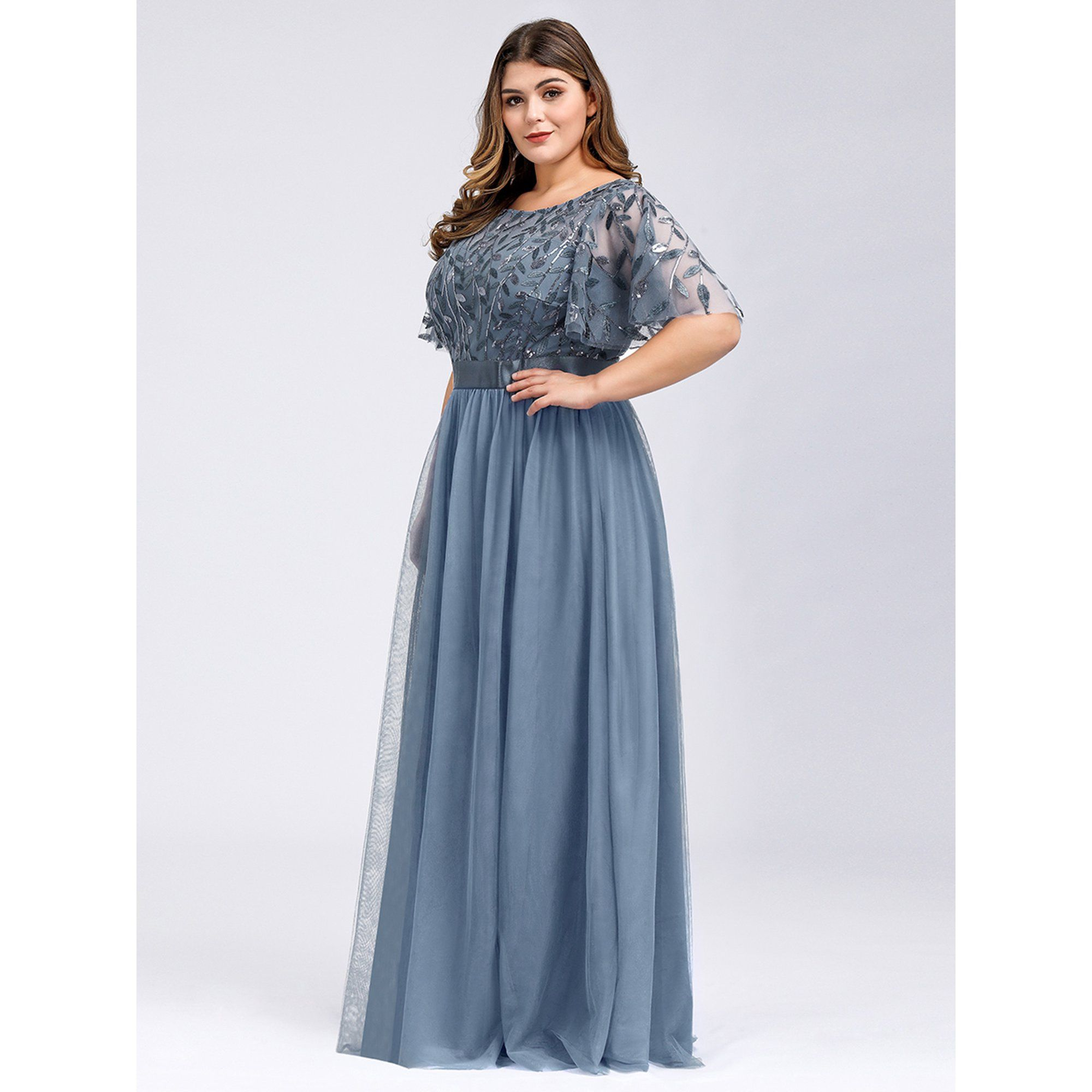 Ever Pretty Ever Pretty Womens Plus Size Elegant Mother Of The Bride Dresses For Woman 09042 Grey Us20 Walmart Com In 2021 Bridesmaid Dresses Plus Size Beautiful Evening Dresses Stunning Bridesmaid Dresses [ 2000 x 2000 Pixel ]