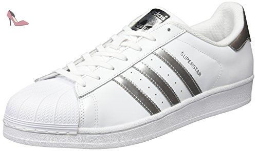Basses Mixte Adidas Baskets White Blanc ftwr Adulte Superstar qfCB1CEw