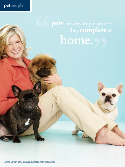 Martha Stewart Interview With Fetch Magazine Pets Pet People Famous Dogs