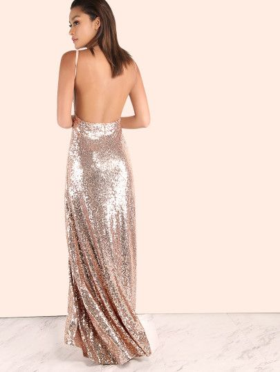 Backless maxi dresses for women