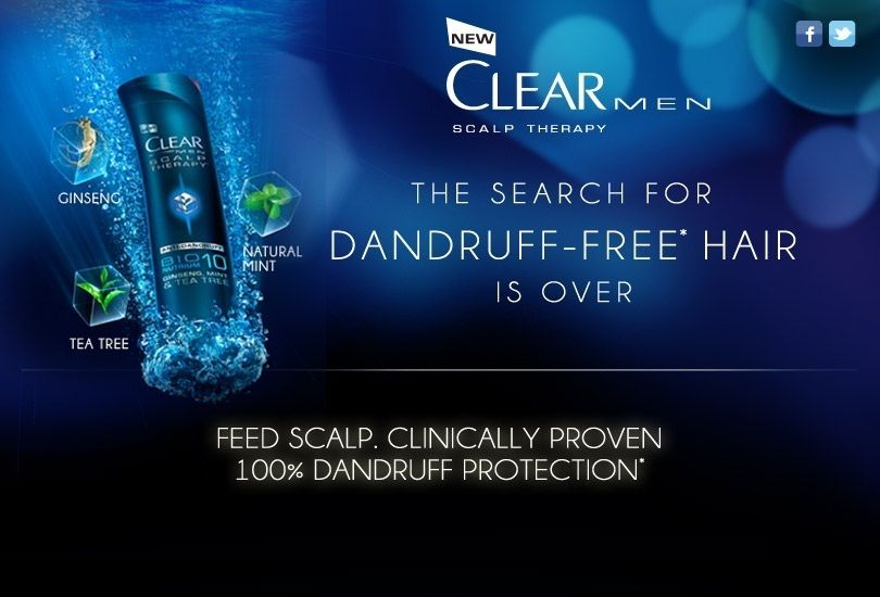 Two Chix Beauty Fix Free Sample Clear Men Scalp Therapy Dandruff - free mail sample
