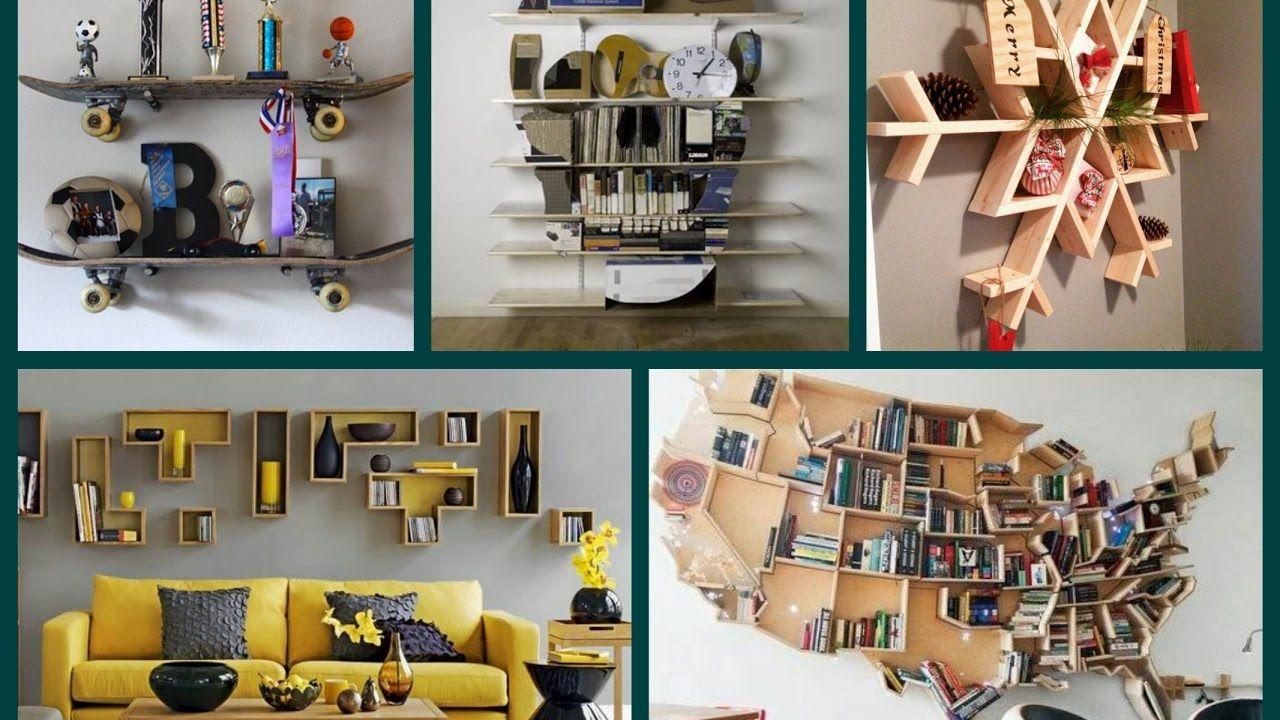 10 New Creative Shelves Ideas - DIY Home Decor - YouTube #diy