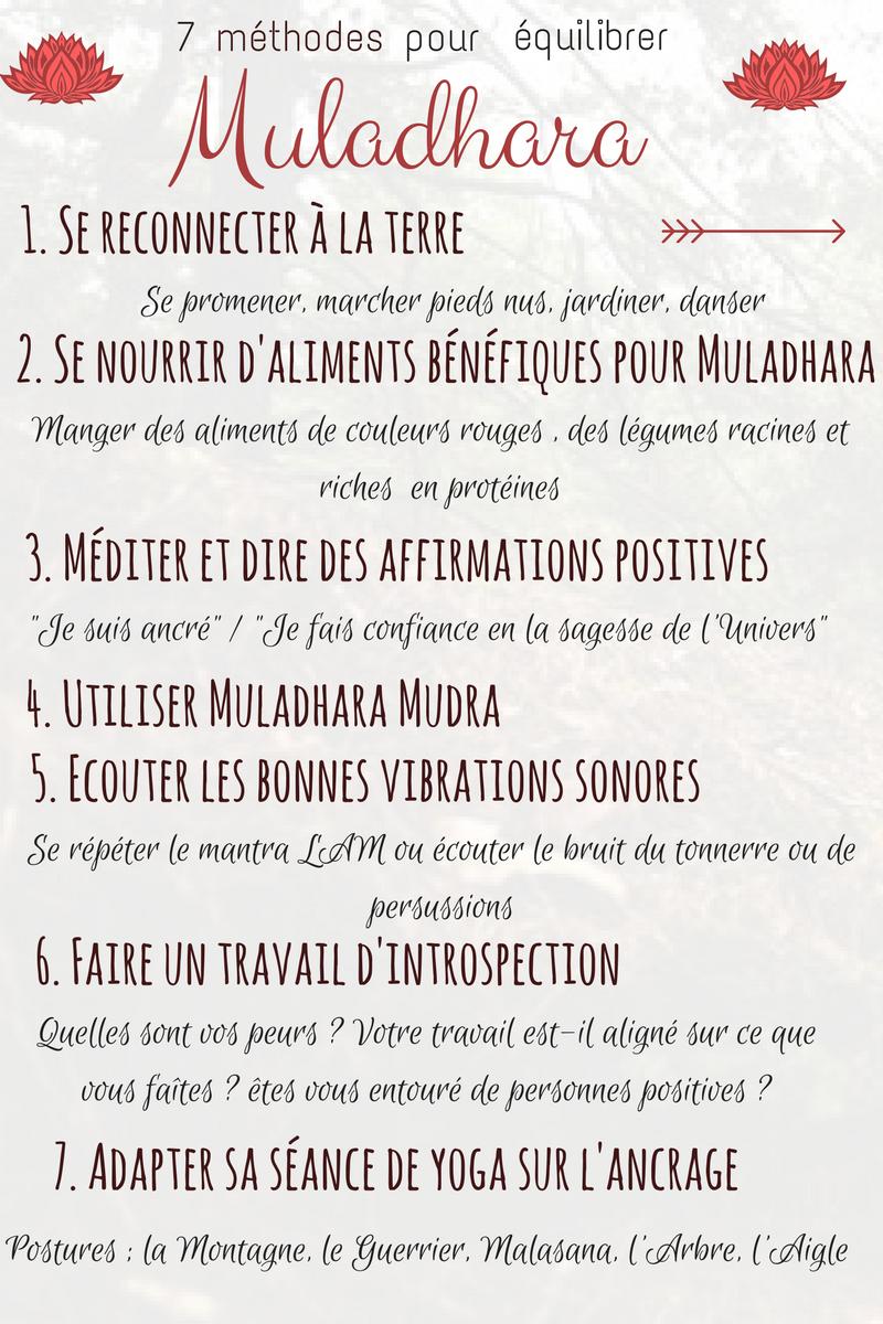 Balance the base chakra: Muladhara -  7 methods to balance Muladhara  - #balance #base #chakra #Exercise #meditation #muladhara #StudioWorkouts #YogaPoses