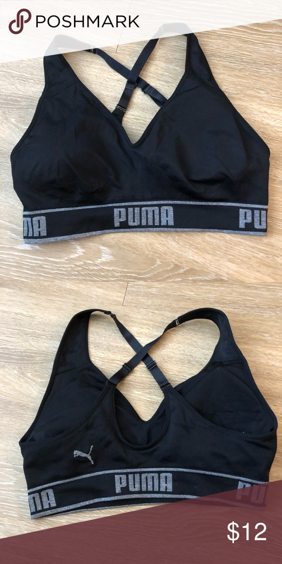 00a002202 Puma Sports Bra Puma Sports bra. Size large. NWOT. Puma Intimates   Sleepwear  Bras