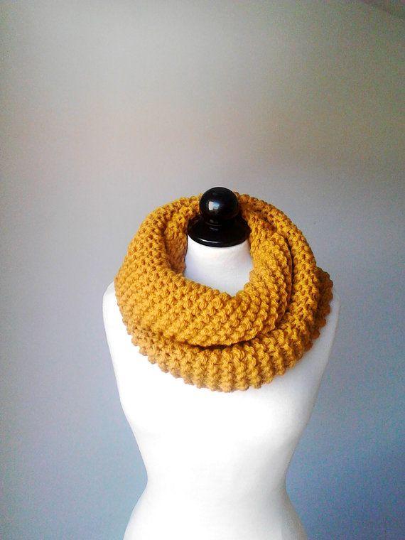 Women scarf knit scarf chunky scarf crochet scarf infinity scarf ...