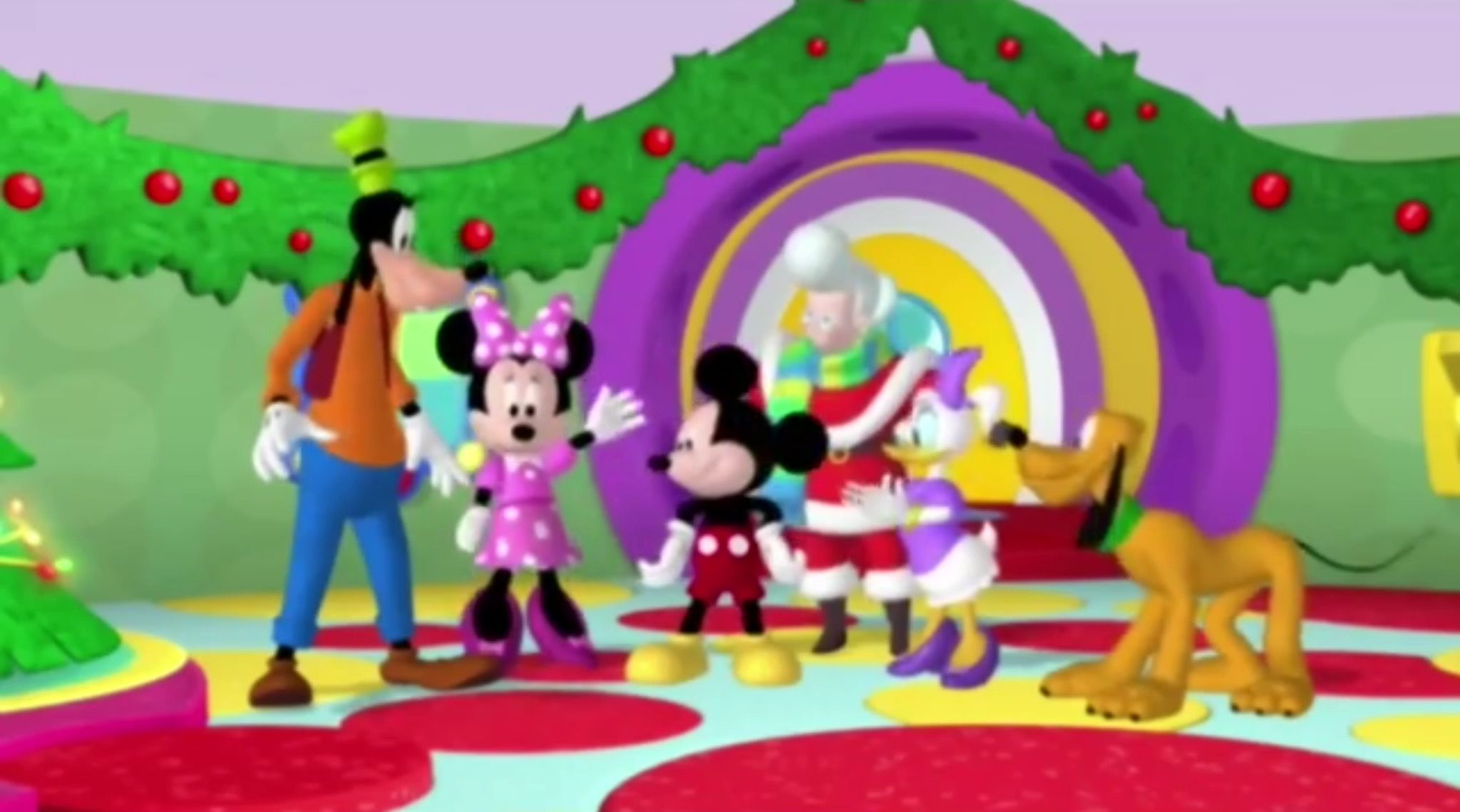 mickey mouse clubhouse mickey saves santa 2006