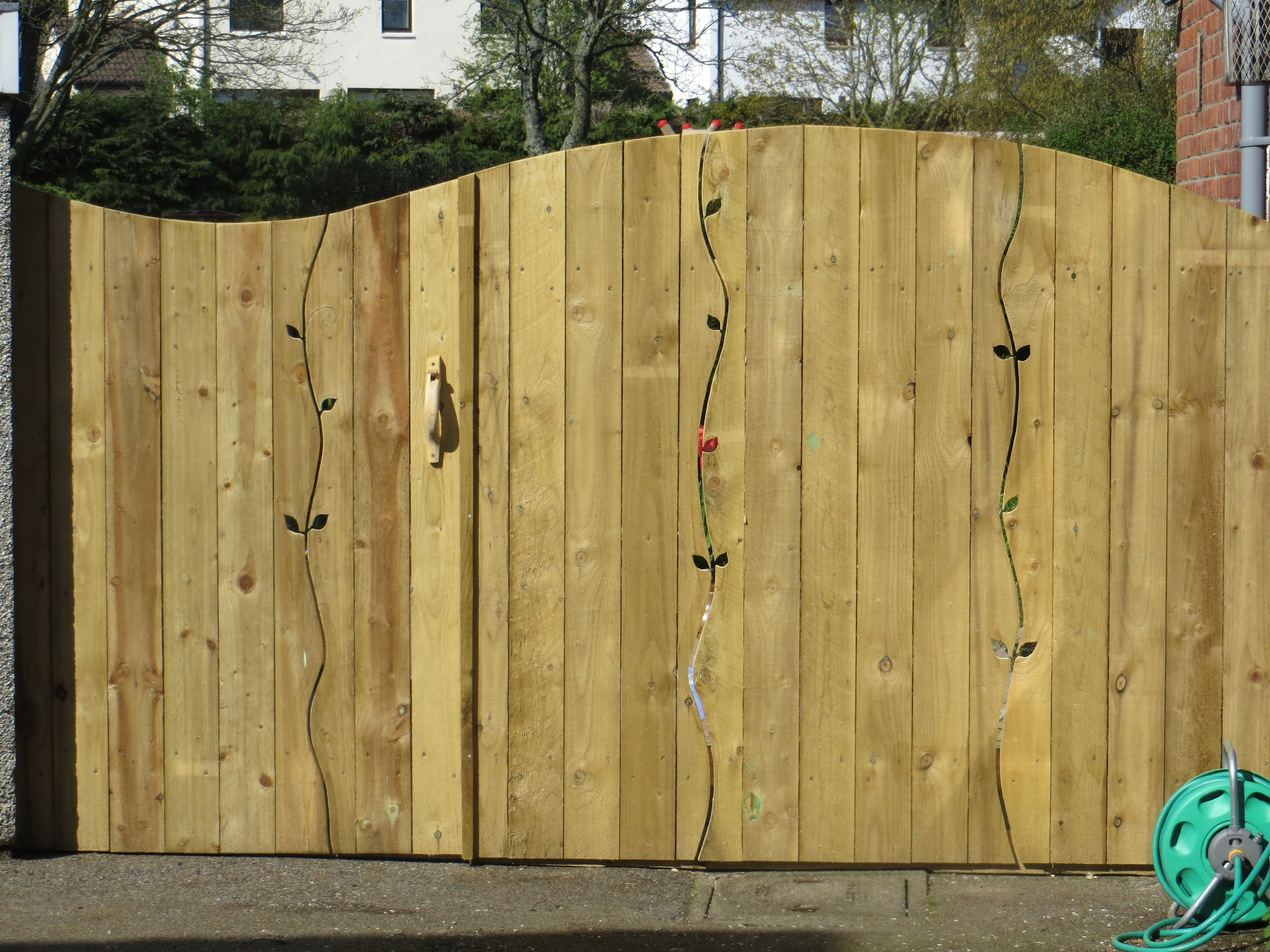Beautiful fence made by Chris Armstrong   • SCAPE •   Pinterest ...