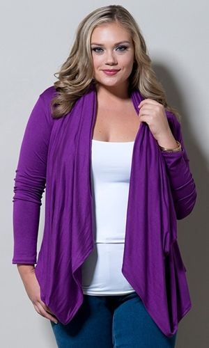Eternity Wrap Cardigan (Jewels) $49.90 by SWAK Designs #PlusSize #Curvy #swakdesigns