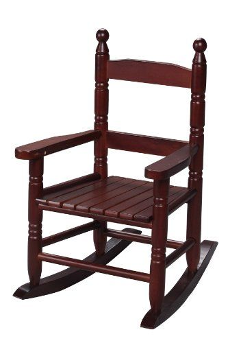 Kids Rocking Chairs Gift Mark Childs Double Slat Back