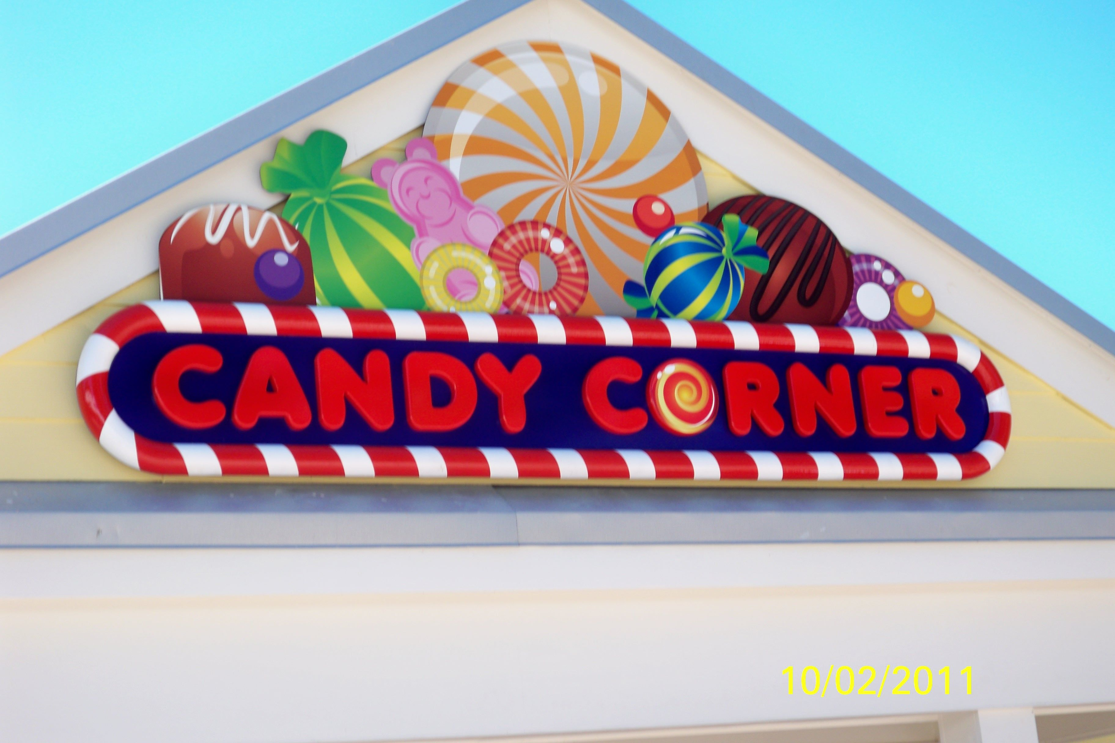 Candy Corner Was A Bright And Colorful Sign By Thomas Awning Company Inc