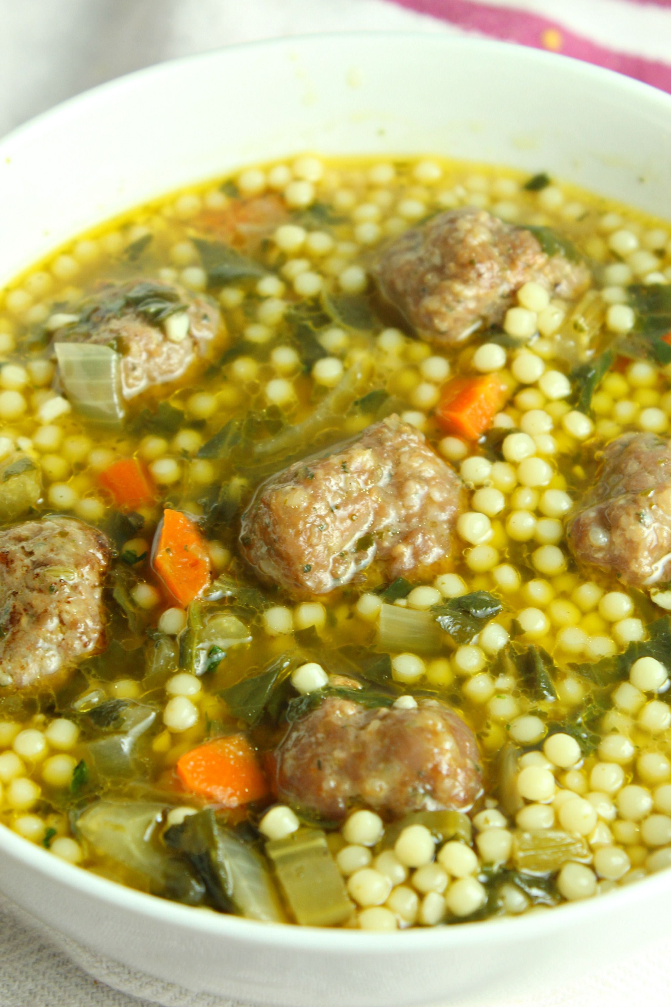 Italian Wedding Soup!