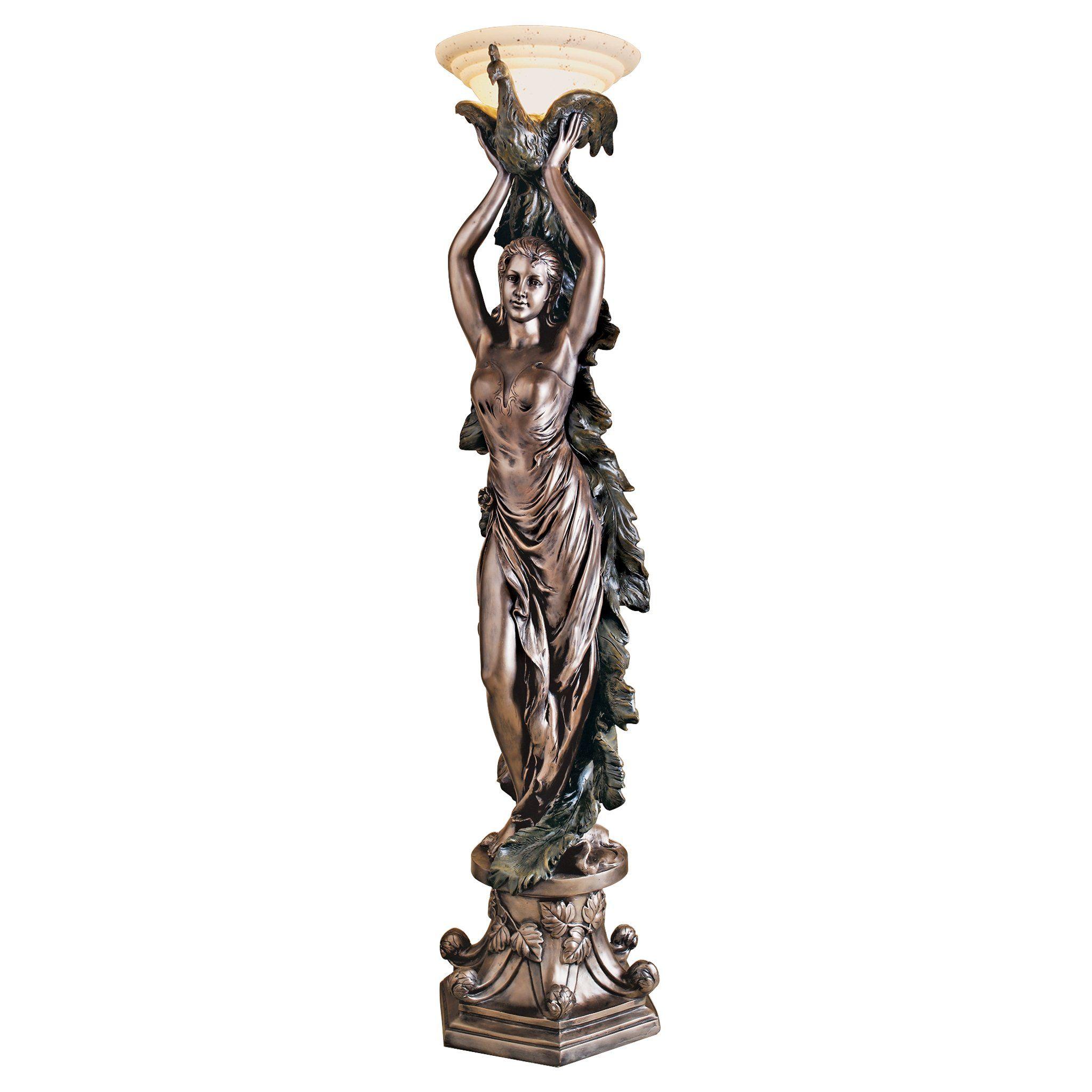 statue veneto lamp lamps antique htm studio oldworldlamps reliquary world old floor