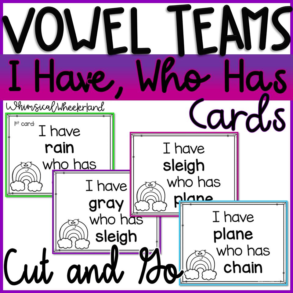 Long U Vowel Teams & Long U Vowel Teams