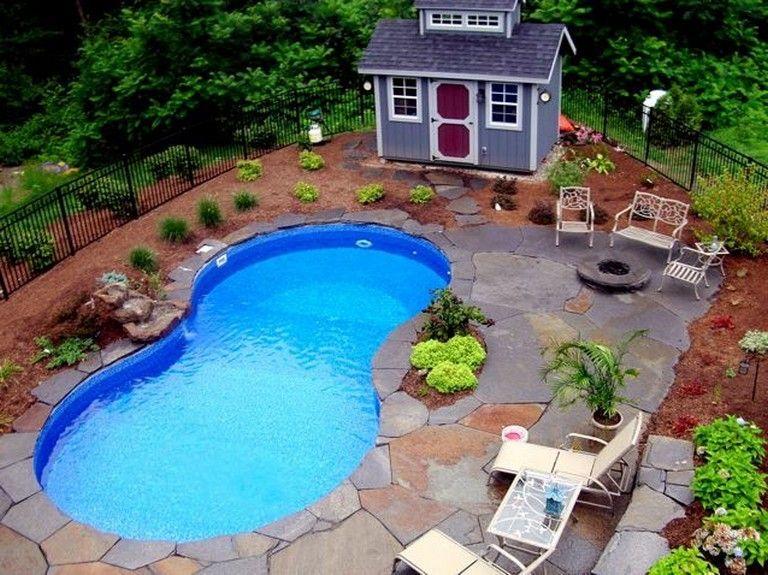 20+ Marvelous Backyard Pool Ideas On A Budget   Backyard ... on Pool Patio Ideas On A Budget id=18086