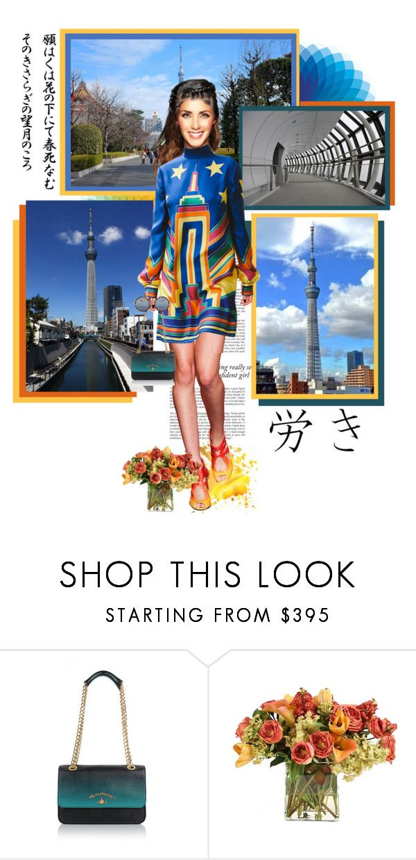 """""""Tokyo Skytree (東京の日)"""" by annynavarro ❤ liked on Polyvore featuring Haze, Vivienne Westwood, Distinctive Designs and Matthew Williamson"""