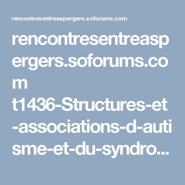 site rencontres asperger)
